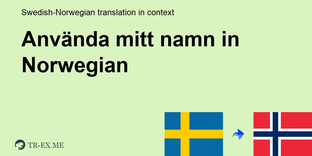 Mitt Namn Pa Latin