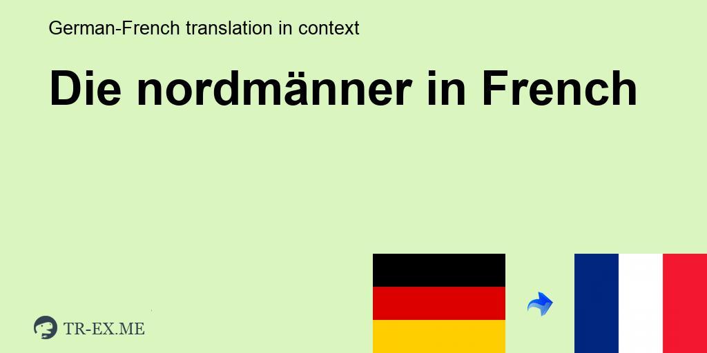 Bedenken Haben Franzosisch