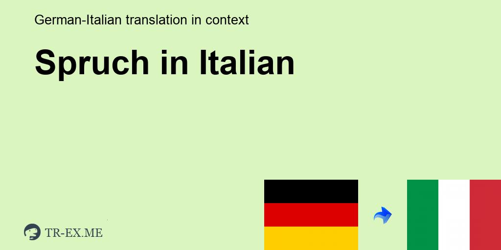 Italienisch übersetzung sprüche mit ᐅ Italienische