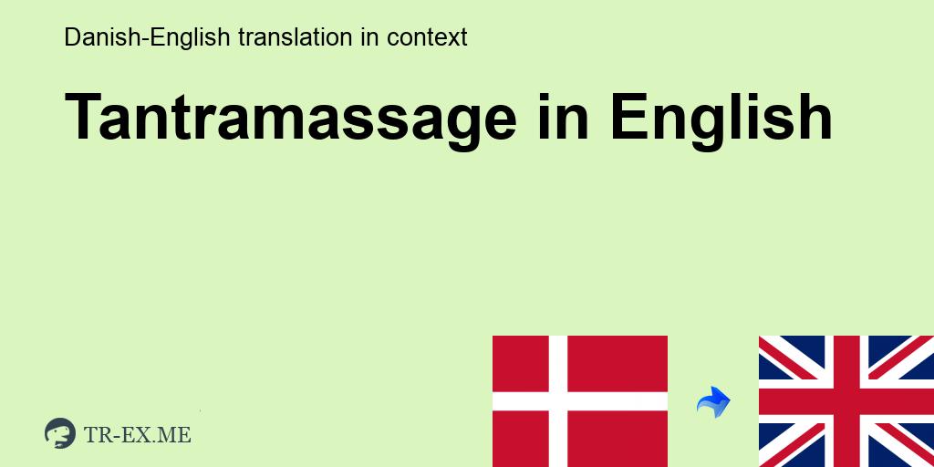 Copenhagen in tantra massage Tantra massage