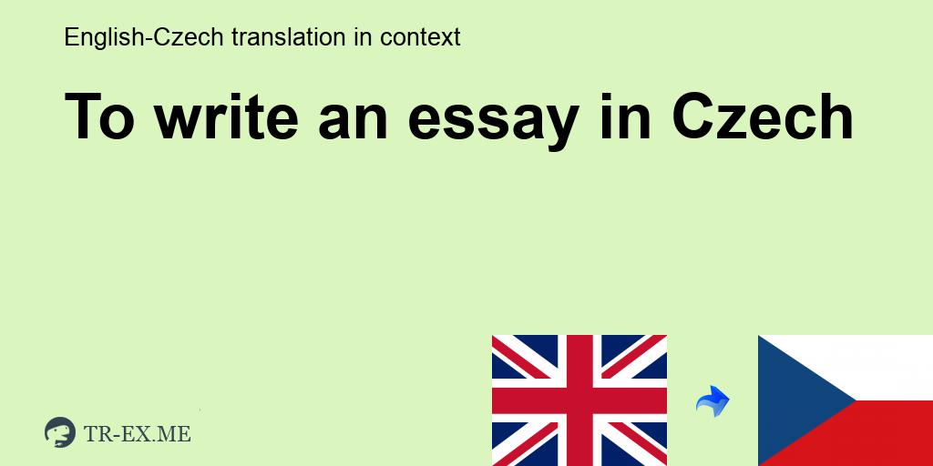 How do i write essay