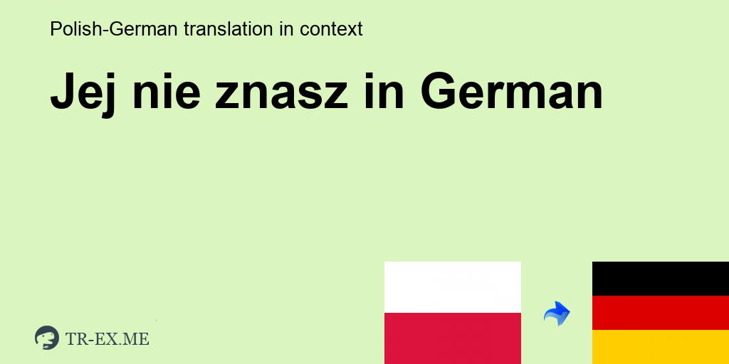 co znaczy po niemiecku kennenlernen
