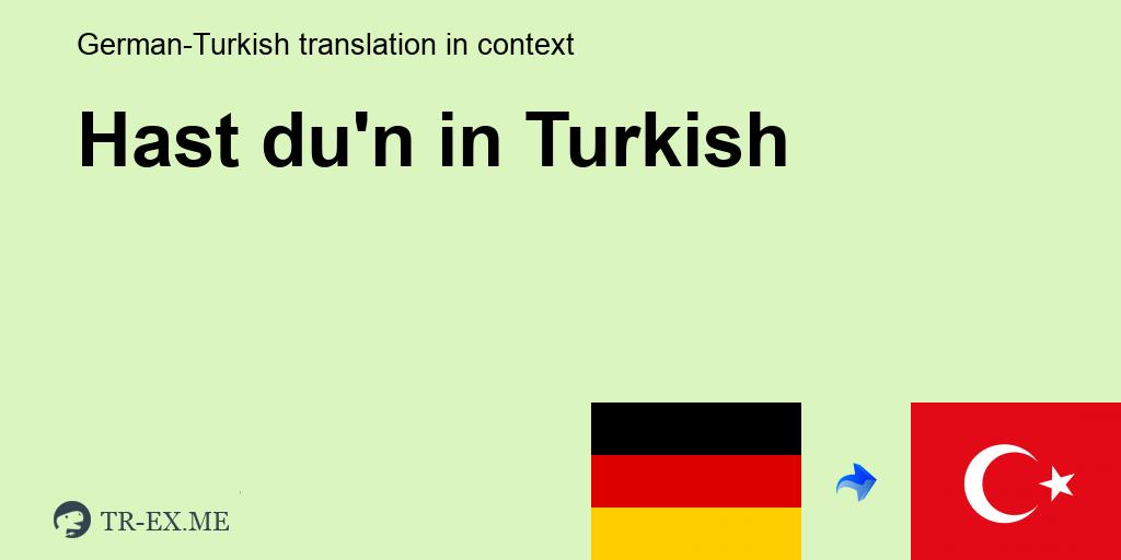 Getan du türke türke was hast türke türke