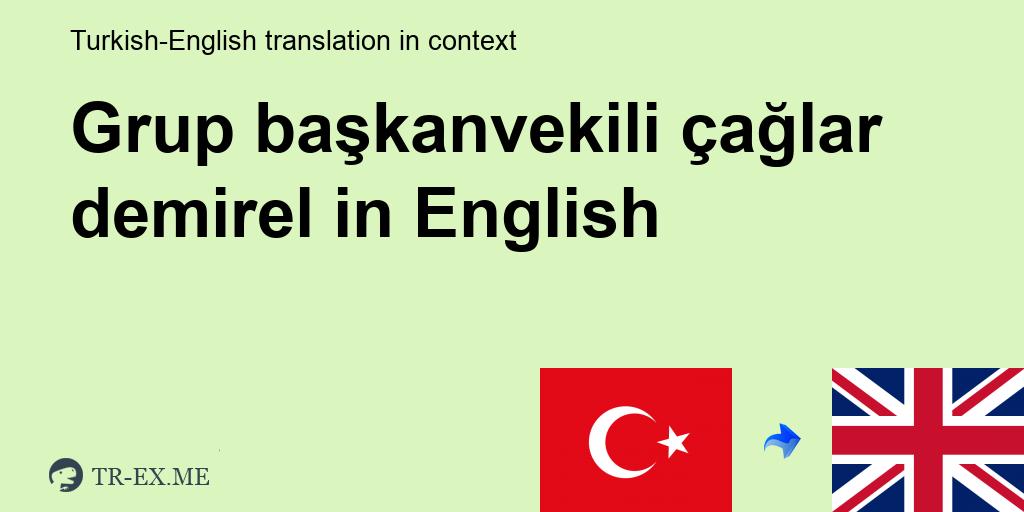 turkce cumle icinde grup