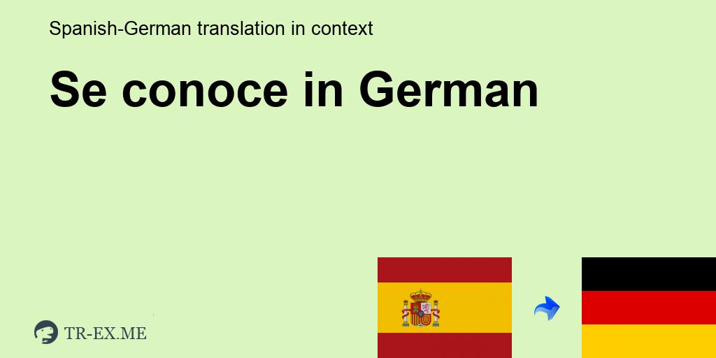 das kennenlernen traduction