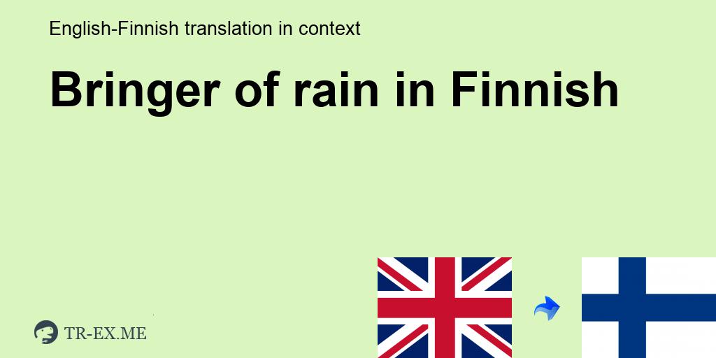 Rainia In The Rain