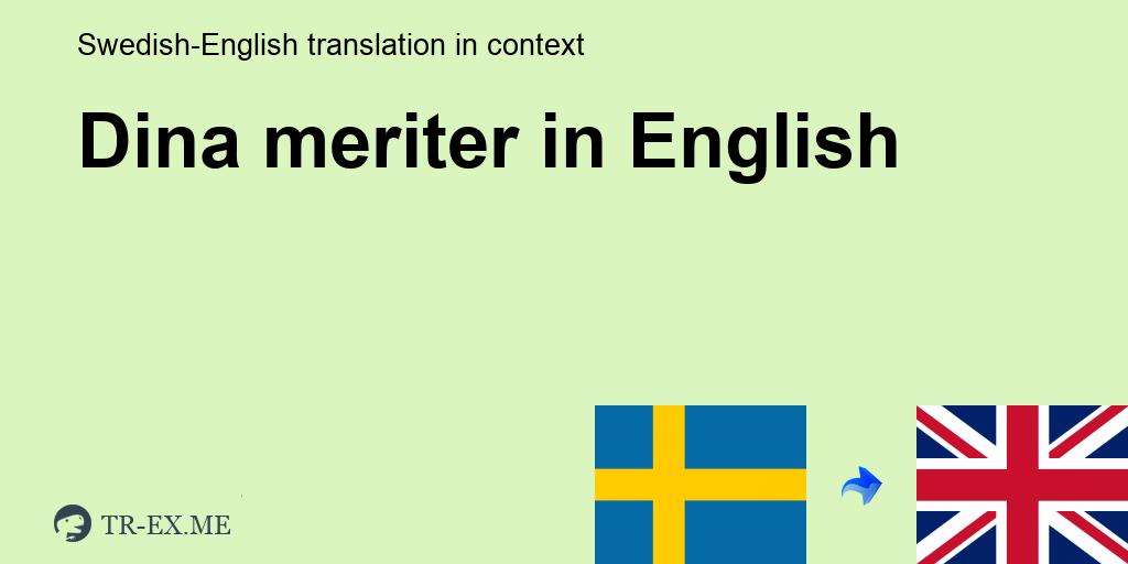 Meriter Synonym